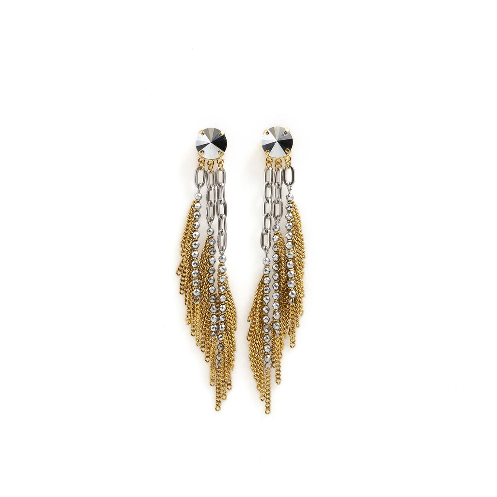 Gemma Earrings Gold