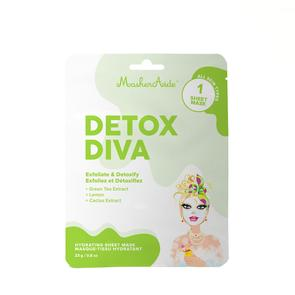 DETOX DIVA - Detoxifying Sheet Mask