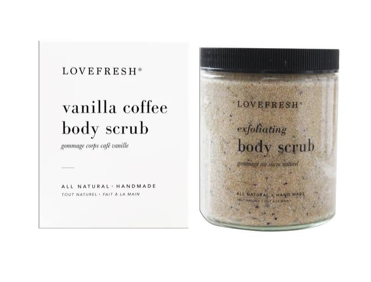 Vanilla Coffee Body Scrub