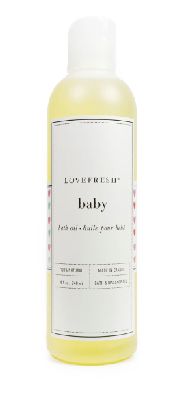 Baby Bath & Massage Oil