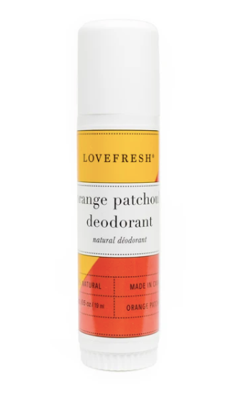 Travel Orange Patchouli Deodorant