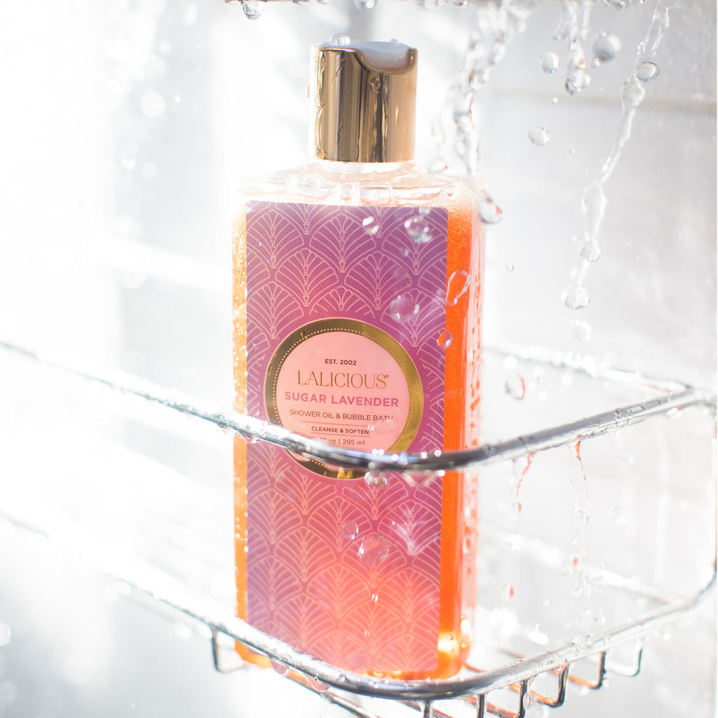 Sugar Lavender Shower Oil & Bubble Bath