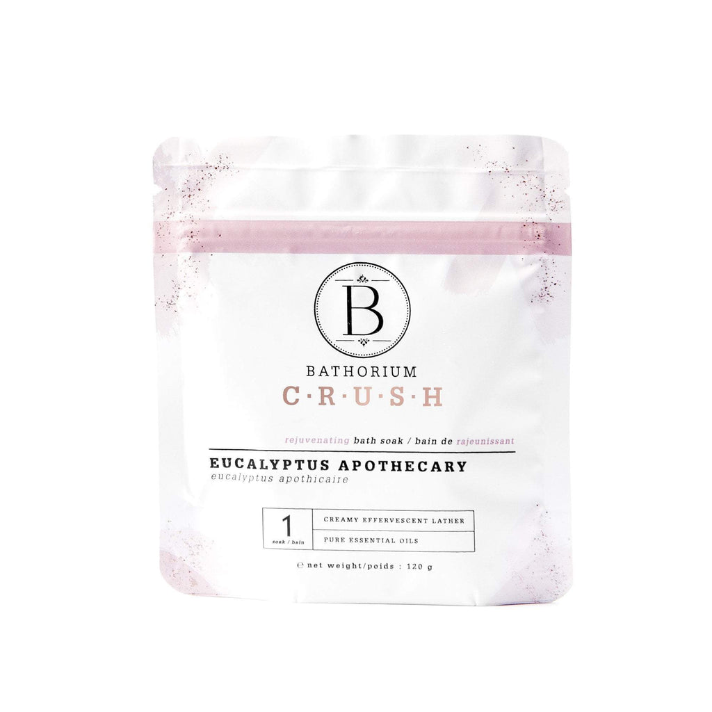 Eucalyptus Apothecary CRUSH Crush Bath Soak Bathorium 120g (1 Bath)