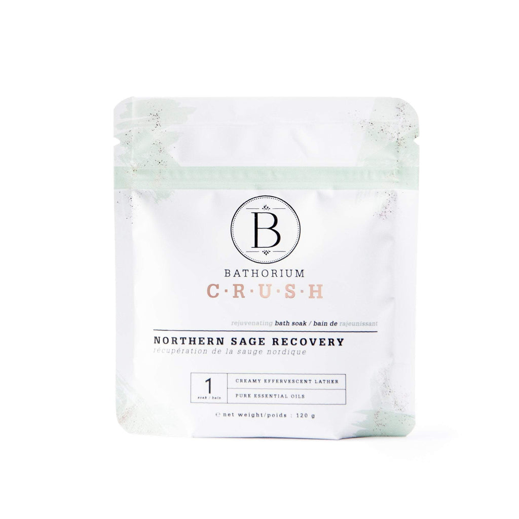 Northern Sage Recovery CRUSH Crush Bath Soak Bathorium 120g (1 Bath)