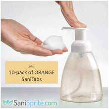Load image into Gallery viewer, Smart Foam MANUAL PUMP - comes with 10 pack of SaniTab soap tablets