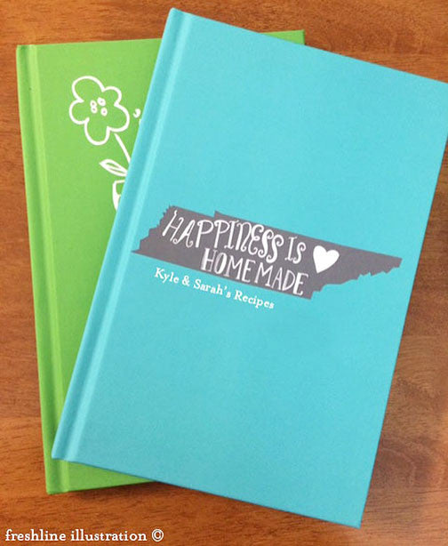 personalized recipe journal