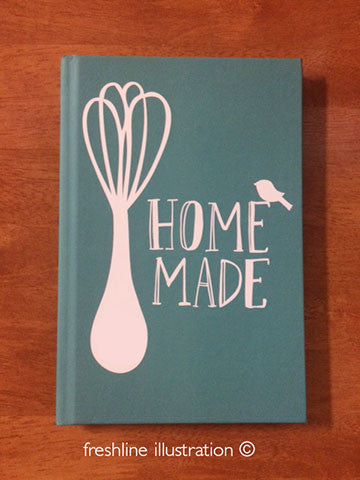 hand lettering custom recipe book personalized recipe book recipe book gift idea