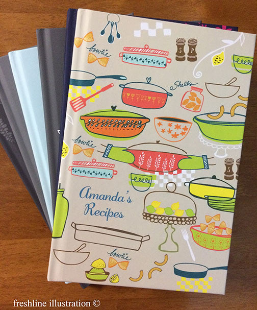 recipe book bridal shower gift