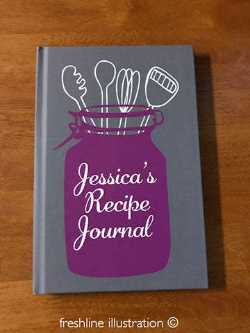bridal shower recipe book