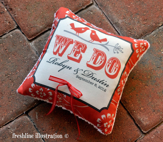 ring pillow for wedding