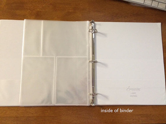 personalized recipe binder bridal shower gift idea Thumbnail