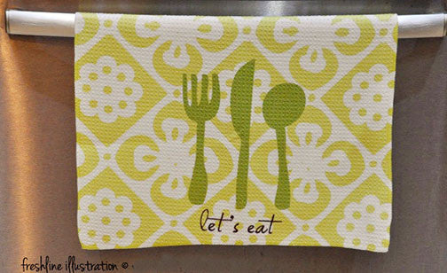 kitchen decor kitchen towel funny kitchen art