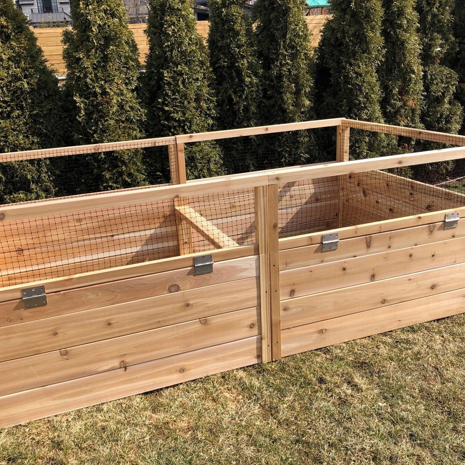 4x8 DIY Raised Garden Bed - Healthy Garden Co