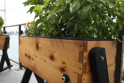 Mobile / Elevated Self-Watering Planter - HighRise