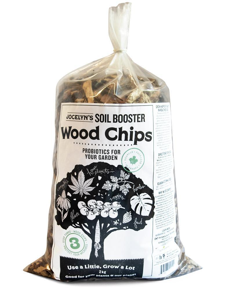 Jocelyn's Soil Booster Wood Chips Mulch (2kg) - Healthy Garden Co