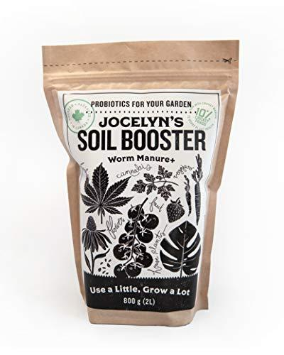 Jocelyn's Soil Booster Worm Manure (800g) - Healthy Garden Co