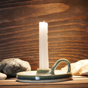 Candle holder - Green Cabin Pottery