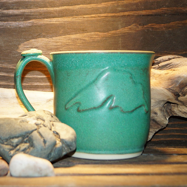 12 oz Lake Superior Green Mug