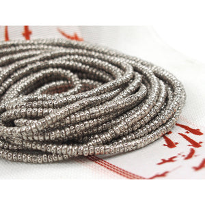 98% Pure Hill Tribe Silver 3.5mm Beads 11