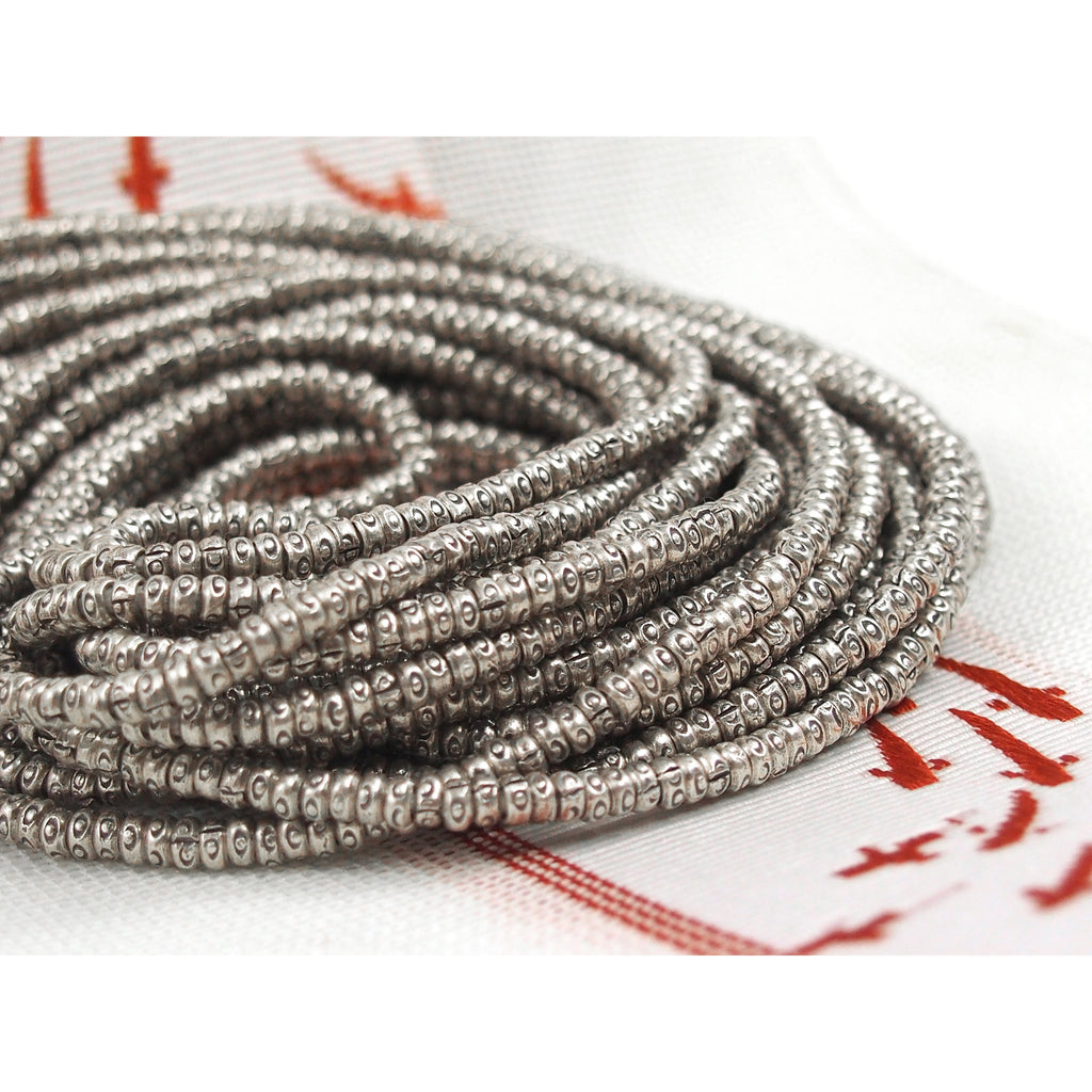 98% Pure Hill Tribe Silver 3mm Beads 32
