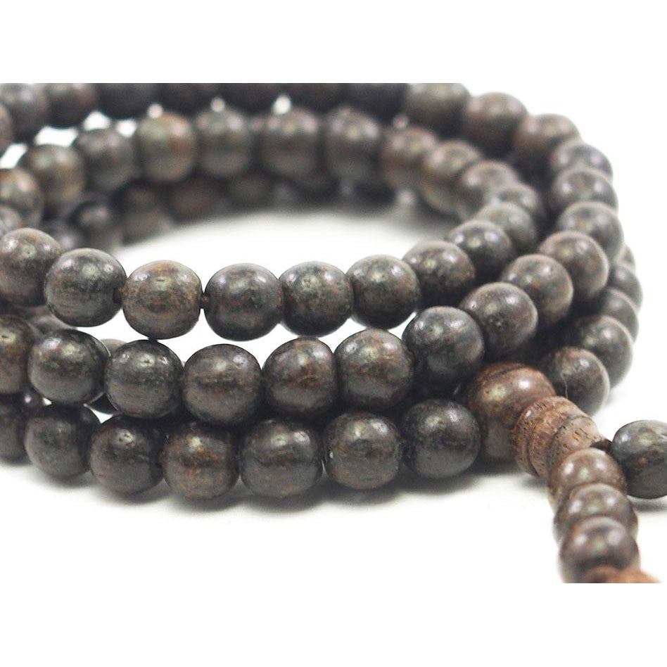 Aquilaria Agarwood 6mm Mala