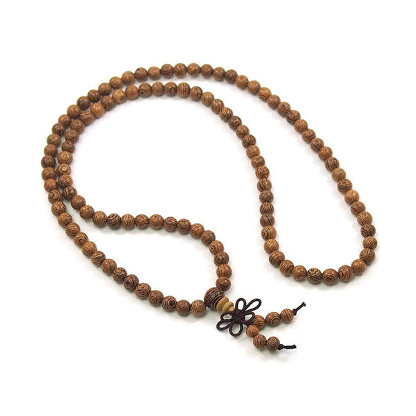 Wenge Wood 6mm Mala
