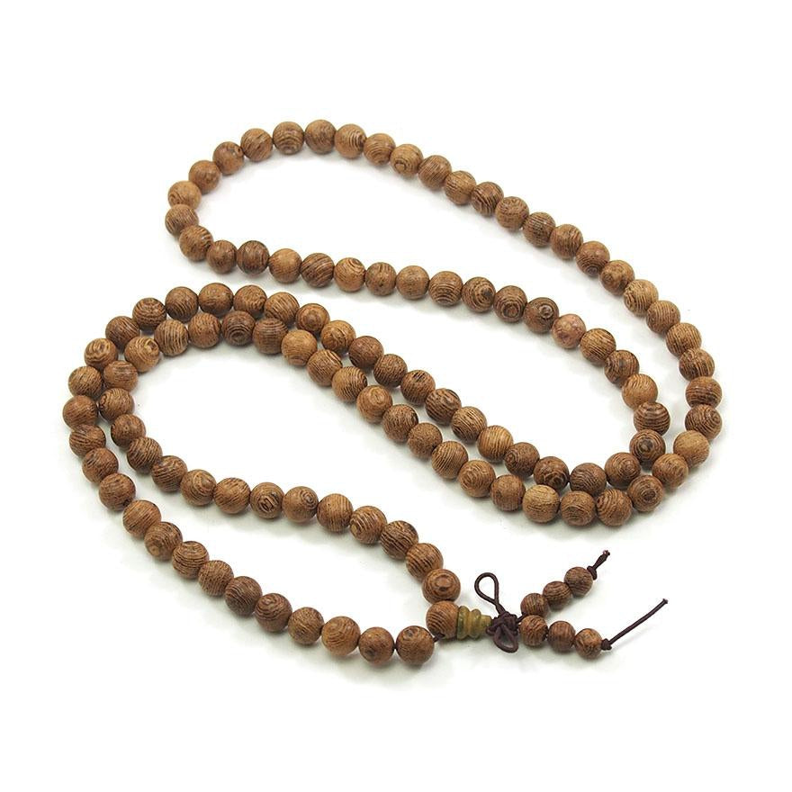 Wenge Wood 8mm Mala