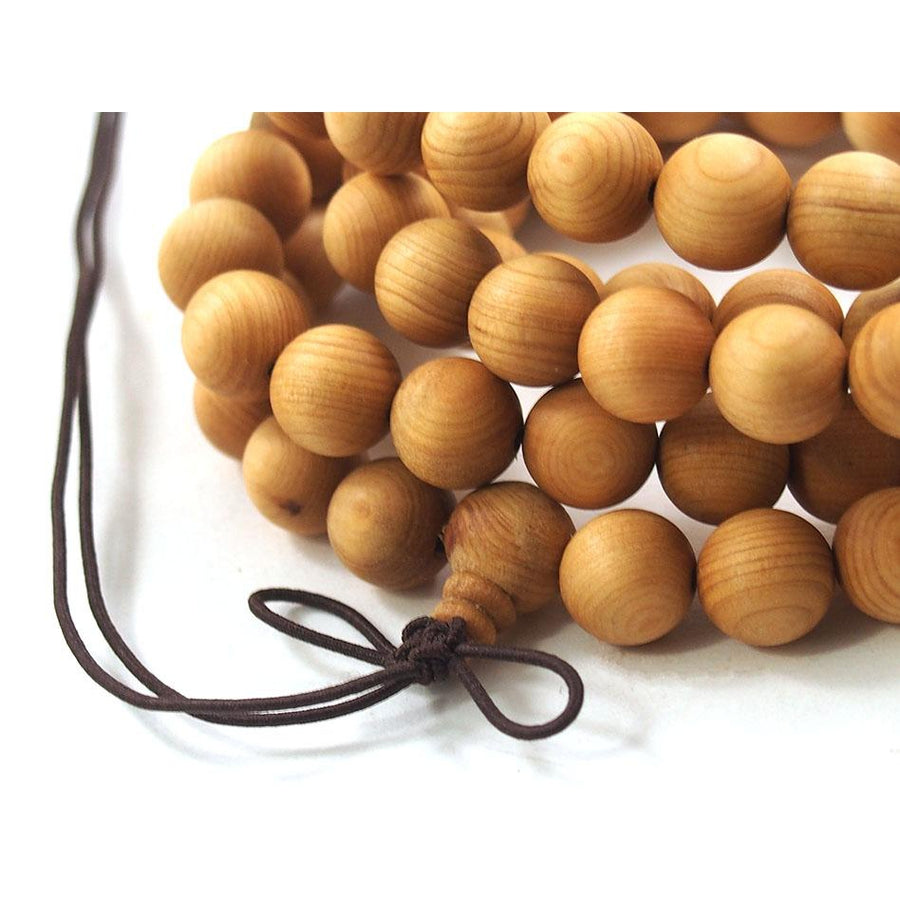 Blonde Sandalwood 10mm Mala from Southwest Australia