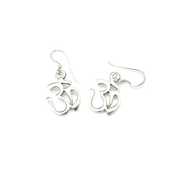 Sterling Silver OM/OHM Earrings