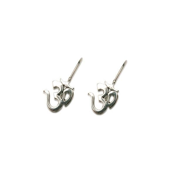 Sterling OM earrings