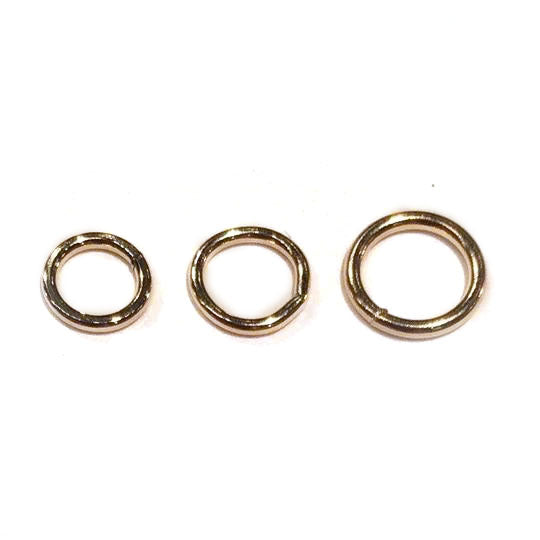 Gold Filled Jump Rings, Closed