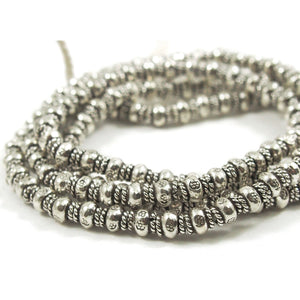 98% Pure Hill Tribe Silver 5mm Beads 16