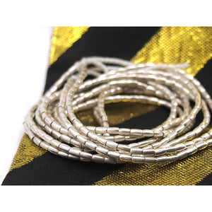 98% Pure Hill Tribe Silver 2.3mm Beads 9