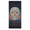 Bamboo Beaded Curtain Hand Painted - Sugar Skull