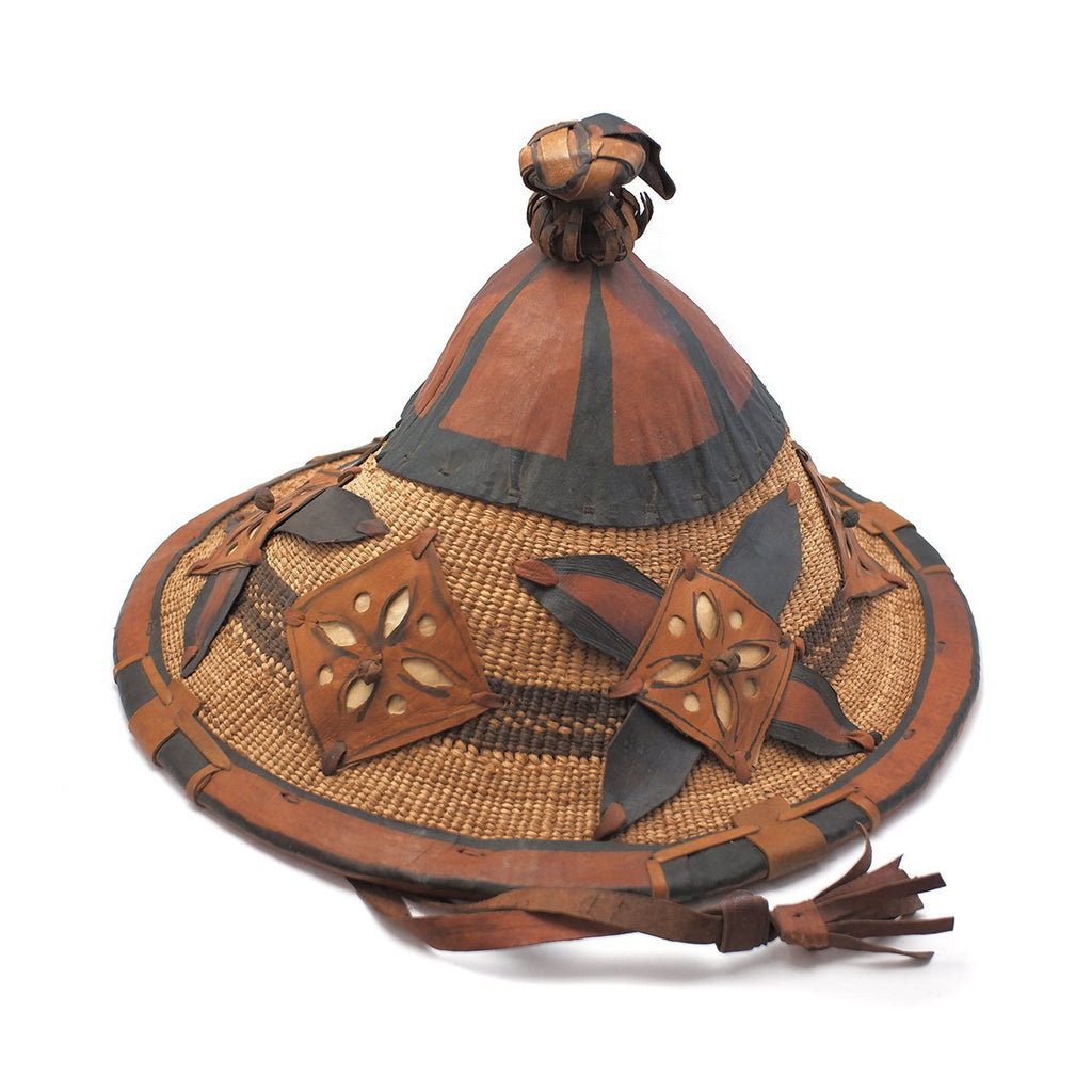 Wodaabe Reed Woven Hat / Headdress from Republique du Niger