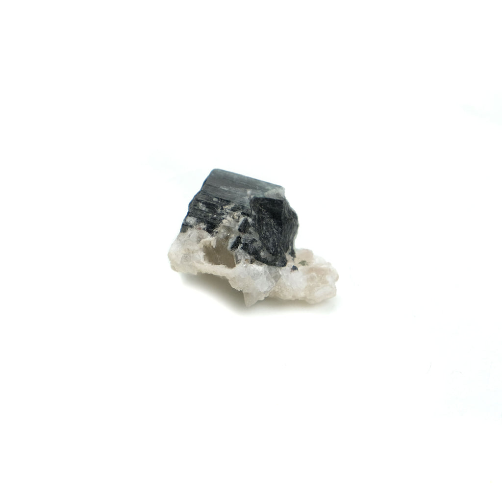 Black Tourmaline Crystals in Quartz Specimen #87
