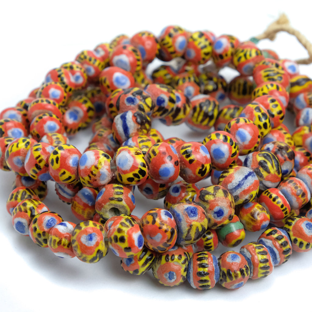 Kiffa Glass Bead Contemporary Strand #1