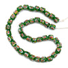 Eye Beads Recycled Glass Strand #11