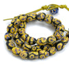 Eye Beads Fancy Recycled Glass Strand #29