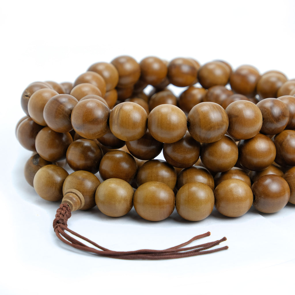 Pine Wood Extra Large Wood Mala 20mm