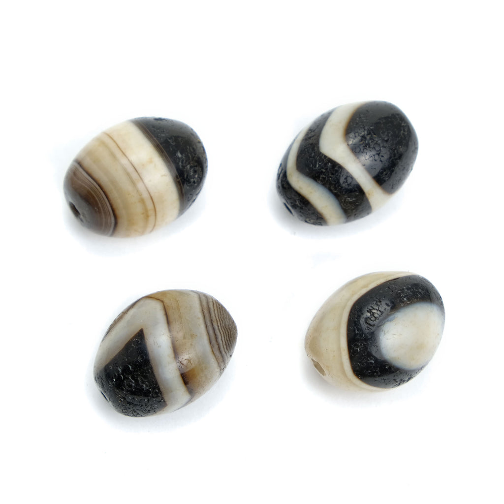 Suleiman Agates Single Beads #6