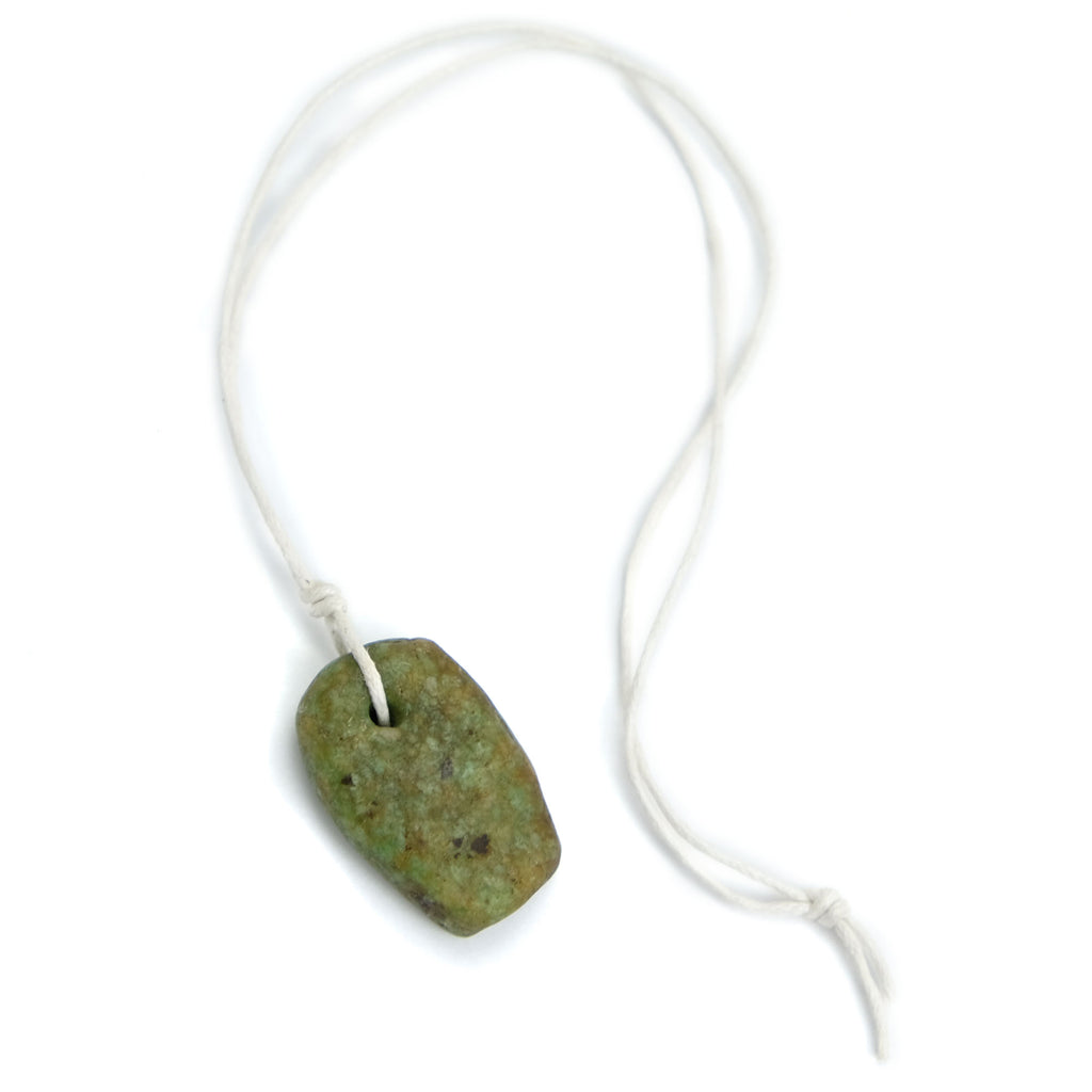 Excavated Amazonite Pendant, Small