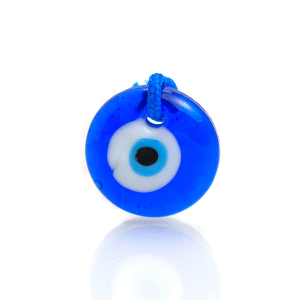 Evil Eye Glass Ornament 1""