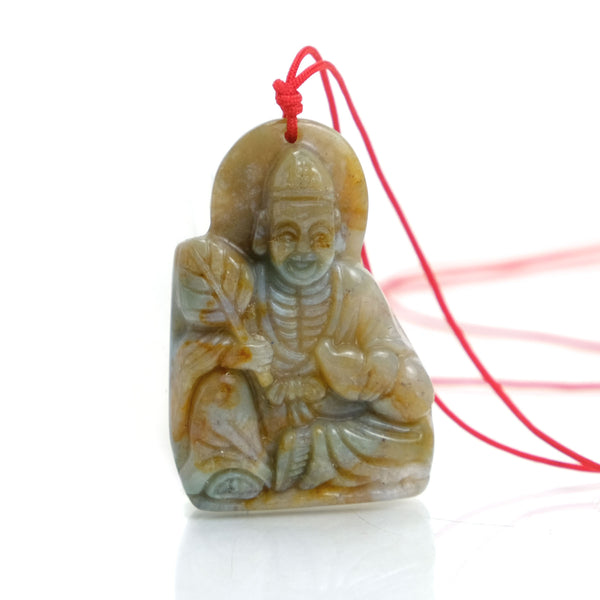 God of the Military and Weapons Chinese God Zhongli Quan Pendant #3