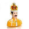 Queen Freddie Mercury Glass Ornament