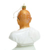 Gandhi Glass Ornament