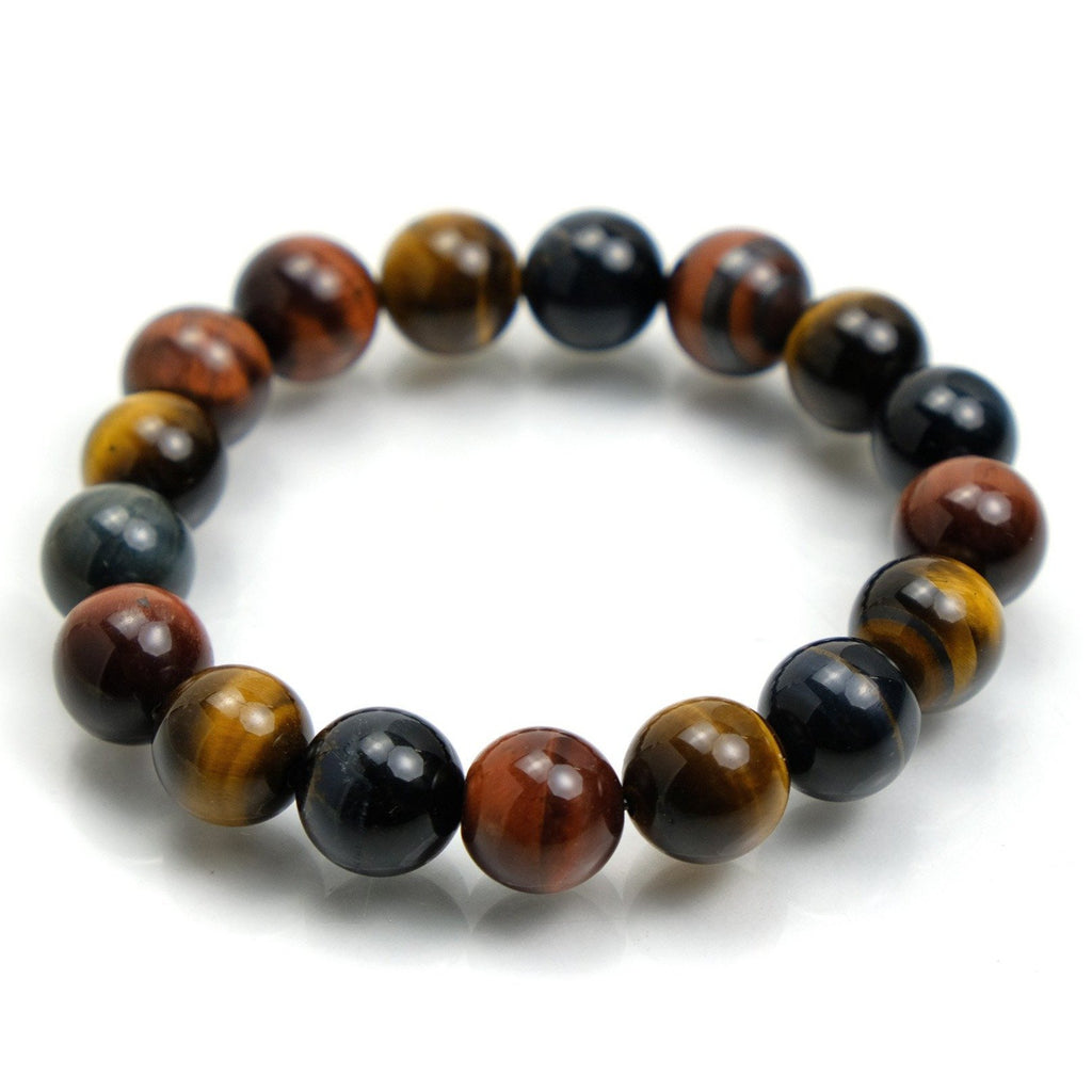 Tiger's Eye 12mm Stretch Bracelet
