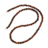 Red Tiger's Eye 4mm Smooth Rounds