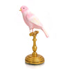 Perched Pink Canary Ornament