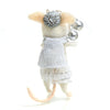 Wintertime Mice Felt Ornament